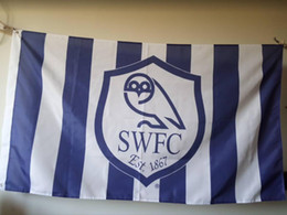 $enCountryForm.capitalKeyWord Canada - Sheffield Wednesday FC Flag 90 x 150 cm Polyester England Football Club Sports Banner