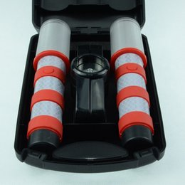 Wholesale Red LED Emergency Roadside Flares - Magnetic Base and Upright Stand - these Magnatek Red LED Beacons May Save Your Life