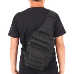 $enCountryForm.capitalKeyWord Australia - Outdoor sport bag Assault Pack Gear Sling Pack Backpack Single Shoulder Bag Chest Pack Bag Molle Daypack for Camping Hiking Hunting