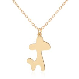 $enCountryForm.capitalKeyWord UK - Popular Cute Animal Small Dogs Design Vintage Gold Silver Alloy Necklace Pendant Female Jewelry Vintage Statement Necklace Women