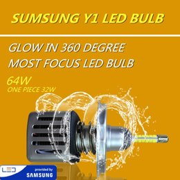 chip samsung 2019 - DLAND OWN Y1 360 DEGREE GLOWING MOST FOCUSING 6400LM MOVER AUTO CAR LED BULB LAMP WITH SAMSUNG CHIP, H1 H3 H7 H11 9005 9