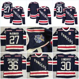 2ed1e68b Youth 2018 Winter Classic New York Rangers Jerseys 27 Ryan McDonagh 30  Henrik Lundqvist 36 Mats Zuccarello 93 Mika Zibanejad Hockey Jerseys