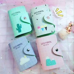 cute fruit holders 2019 - New Style Cute Fruit banana PU Leather Women  Holder Case card holder Wallet Business Cards Bag ID Holders kids gift che