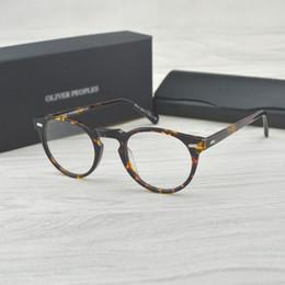 7dab8aa3833 Vintage optical glasses frame OV5186 eyeglasses Oliver peoples Gregory peck  ov 5186 reading glasses women and men eyewear frames