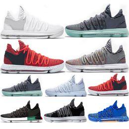 89548fce New Zoom KD 10 Anniversary University Red Still Kd Igloo black Oreo Men Basketball  Shoes USA Kevin Durant Elite KD10 Sport Sneakers KDX
