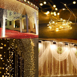 $enCountryForm.capitalKeyWord UK - 3Mx3M Curtain Icicle LED String Light Fairy 300Leds Christmas Garland Wedding Party Patio Window Outdoor strings Lights Decoration