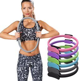 pilates ring yoga NZ - Yoga Pilates Ring Magic Circle Fitness Slimming Body Building Yoga Circles wheel Crossfit Rings Accessories