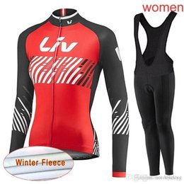 $enCountryForm.capitalKeyWord NZ - LIV team Cycling Winter Thermal Fleece jersey (bib) pants sets hot high quality Quick Dry Lycra 3D gel pad Ropa Ciclismo women C2111