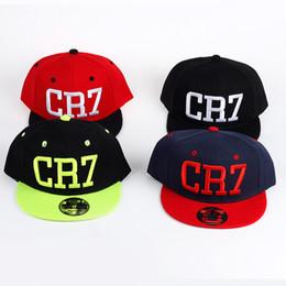 61c15e255d3 2017 new Children Baseball Cap CR7 Popular Snapback for Boy Girl Spring  Summer Cap Hip Hop Hats