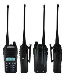 Dual Band Uhf Vhf Portable Australia - hones Telecommunications Walkie Talkie Hot Portable Radio Walkie Talkie Baofeng UV-82 Dual PTT Button two-way Radio Vhf Uhf Dual Band Bao...
