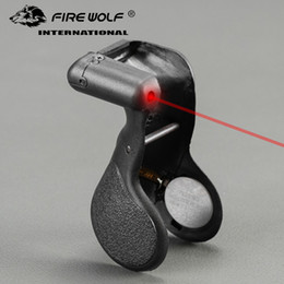 China FIRE WOLF Tactical Red Dot Laser G17 Special Red Dot Laser Sight Range For Hunting Free Shipping suppliers