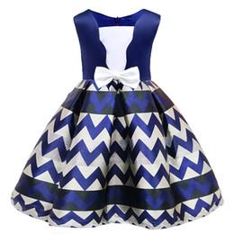 $enCountryForm.capitalKeyWord UK - girls striped princess party dress 2018 summer new children's wear wedding birthday girl lace dress baby girl tutu clothing