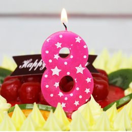 Number Birthday Candles 1 2 3 4 5 6 7 8 9 0 Kids Adult For Cake Party Supplies Decoration Decor