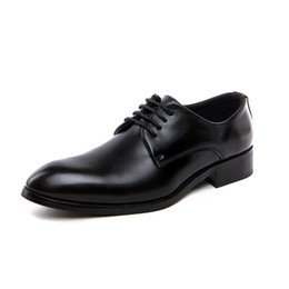 casual shoes italy 2019 - New luxury men's shoes Italy Oxford men's real shoes wedding business dress casual shoes zapatos hombre vestir