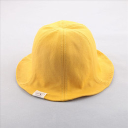 bad2b2341b9 Hiking Hat Adult Child Sun Protection Unisex Solid Color Cotton Sunshade  Breathable Bucket With Wide Brim Holiday Sunscreen Hats