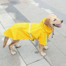 $enCountryForm.capitalKeyWord Australia - Sausage Dog Clothes S M L XL Reflective Rain Gear Clothes Water Ressistant Sweaters for Mastiffs Medium Pet Dogs