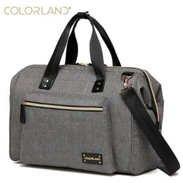 $enCountryForm.capitalKeyWord Canada - Colorland Large Diaper Bag Organizer Nappy Bags Maternity Bags For Mother Baby Bag Stroller Diaper Handbag Bolsa Maternidade