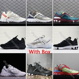 Epic reacts element 87 Shoes For mens womens fashion designer takahashi mesh breathable trainers sneakers Ultra light sports Shoes cheap extremely begf3P4e
