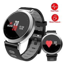 new bluetooth wrist smart bracelet watch 2019 - New Color Screen Smart Band Fitness Watch Pedometer Bluetooth Smart Wristband Heart Rate Blood Pressure Monitor Waterpro