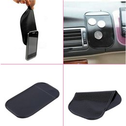 Discount iphone car sticky mount - Silica Gel Magic Sticky Pad Anti-Slip Non Slip Mat for Car DVR GPS for iphone car sticker key mount holder car-style