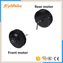 bicycling gear Australia - Free shipping BPM 36v 500w Electric bicycle hub motor geared design front or rear 500w bpm motor