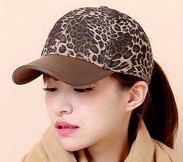 13060eac8f8b Wholesale Leopard Caps Australia - 12pcs Lot Fashion Branded Leopard  Baseball Caps for Women High Quality