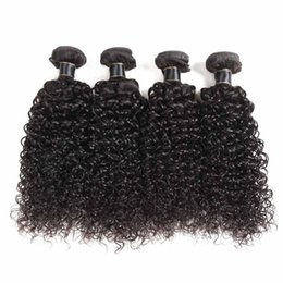 Ombre jerry hair online shopping - 8A Brazilian Virgin Hair Wefts Deep Wave Jerry Curly Loose Deep Bundles Weaves Malaysian Peruvian Hair Extensions Straight Body Wave