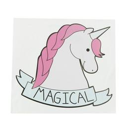 $enCountryForm.capitalKeyWord NZ - Cartoon Funny Car Sticker Waterproof Decals Notebook Stickers Lovely Unicorn Car Home Decor New Unicorn Styling Sticker