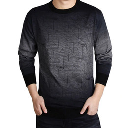 Computer printing shirt online shopping - 2018 Cashmere Sweater Men Clothing Mens Sweaters Print Hang Pye Casual Shirt Wool Pullover Men Pull O Neck Dress High Quality