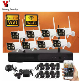 Discount wifi cctv camera system - YobangSecurity 8CH Wireless 960P NVR KIT + 8PCS 1.3MP IR Outdoor Camera Wifi Video IP CCTV Security Surveillance Camera