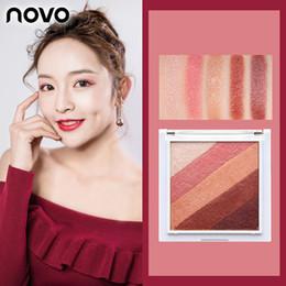 Rainbow coloR palette eyeshadow online shopping - Novo Rainbow Color Eyeshadow Palette Shimmer Eye Shadow Makeup Long Lasting Beauty Cosmetics Matte Eyeshadow Pigment Make Up