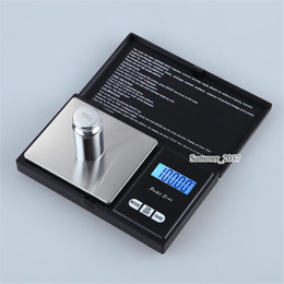 Wholesale 200g x 0.01g Black Pocket Size Electronic LCD Digital Personal Precision Jewelry Scale, Diamond Gold Balance Weight Scales