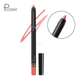naked lipstick lips 2019 - Pudaier Naked Color Lipstick Pen Lip Liner Pencil long-lasting Waterproof Lips Makeup