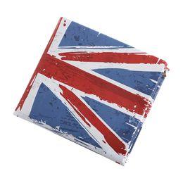 Free purse patterns zippers online shopping - Men Women Wallets Lady Purses Retro UK Flag Pattern Moneybags Girls Handbag Coin Purse Short Clutch Wallet