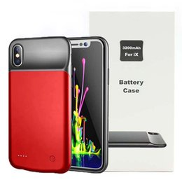$enCountryForm.capitalKeyWord NZ - 3200mAh Battery Case For iPhone X External Battery Portable Power Charger Protective Charging Case for iPhone X