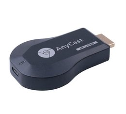 HD TV Stick AnyCast M9 Plus para Chromecast Youtube Netflix 1080P Wireless WiFi Display TV Dongle Receiver DLNA Miracast para Phone Tablet PC