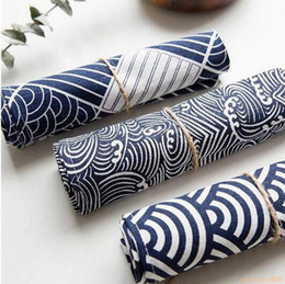 Dinner Table Cloth Australia - 40*70cm Cotton Cloth Japan Style Dinner Cup Mats Pads Dining Table Placemats Kitchen Accessories Decoration