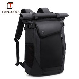 "cool school bags for boys UK - TANGCOOL New Korean Style Men Fashion Backpacks Unisex Women School Backpack for Cool Boys 15.6"" Laptop Luggage Bags"
