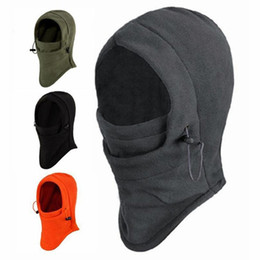 Chinese  2018 New 6 in 1 Outdoor Ski Masks Bike Cyling Beanies Winter Wind Stopper Face Hats #NE920 manufacturers