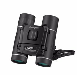 Chinese  New 40x22 Mini Binocular Professional Binoculars Telescope Opera Glasses for Travel Concert Outdoor Sports Hunting manufacturers