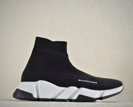 d382f62983ad 2018 free shipping new Casual Running trainning Sneakers Cotton men women⠀Balenciaga  Shoes breathable sports Trainer Size us 12 13