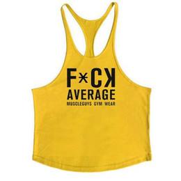 Muscle guys Marca Gyms Stringer Regatas Homens Algodão Y voltar Sportwear  Colete Roupas de Fitness Canotta Musculação camisa sem mangas c8f2736b8c9