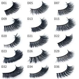 $enCountryForm.capitalKeyWord Australia - Top Quality 15 Styles mink hair eyelashes natural long thick false eyelashes fake lashes extensions handmade eyelashes