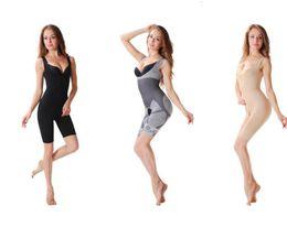 $enCountryForm.capitalKeyWord NZ - Natural Bamboo Slimming Body Suit Shaper Firm Control Underwear Full Body slimmer Shaperwear waist training