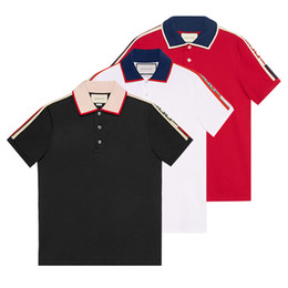 813191da Letters Printed Shirt UK - NEWEST 18ss Italy designer polo shirt Luxury  Brand t shirts mens