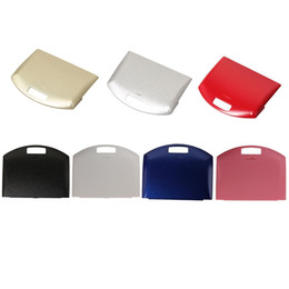 Replacement Battery cover Back Housing Shell Case Door Lid repair parts for PSP 1000 DHL FEDEX EMS FREE SHIPPING on Sale