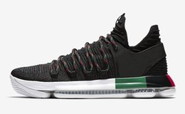quality design cd0ad c2183 ZOOM KD 10 EP basketball boots Lightsome breathe freely Low Basketball Shoes  For Men Kevin Durant X Trainers Sneakers 897816 AA4197 US 7-13
