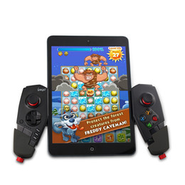 Wireless Pc Controllers NZ - New IPEGA PG-9055 PG 9055 Red Spider Wireless Bluetooth Gamepad Game Controller Gaming Joystick For Android IOS Phone Tablet PC