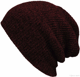 $enCountryForm.capitalKeyWord UK - Winter Beanie Hats For Women Men Knitted Stocking Hat Skullies Beanies Bonnet Gorros Touca Female Male Casual Warm 2018 New