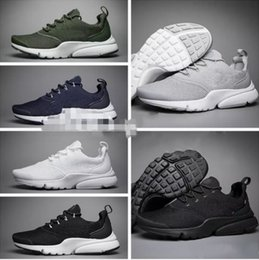 01451abafe31d New 2018 Presto Fly Ultra Olympic BR QS Men Women Running Shoes Navy Black  Fashion Casual Prestos Mens Trainers Sports Sneakers Size 36-45